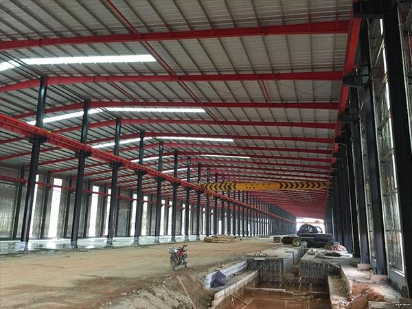 重慶廠房鋼結構工程(加工,安裝)-重慶友杰鋼結構有限公司